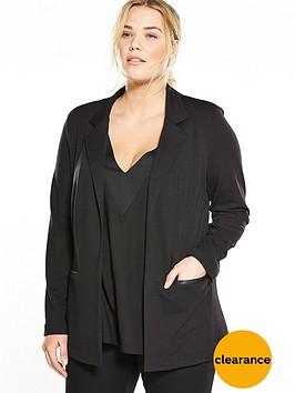 v-by-very-curve-jersey-blazer-black