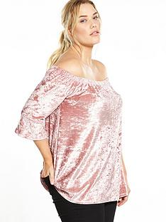 so-fabulous-velvet-bardot-top-blush