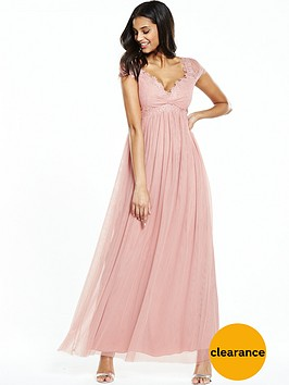little-mistress-crochet-cap-sleeve-mesh-maxi-dress-blush