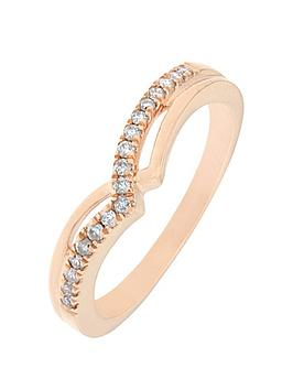 love-diamond-9ct-rose-gold-12-point-diamond-wishbone-ring