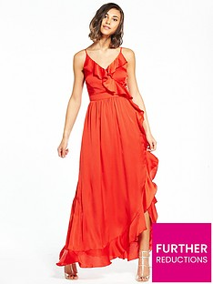 little-mistress-frill-maxi-dress