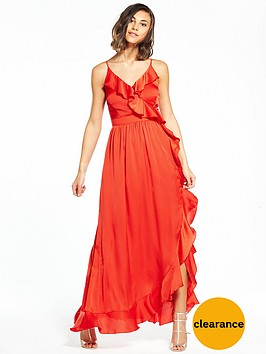 little-mistress-frill-maxi-dress