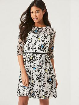 little-mistress-embroidered-mesh-overlay-dress-with-belt