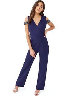 little-mistress-embellished-wrap-jumpsuit