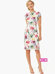 paper-dolls-floral-printed-cap-sleeve-dress