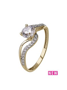 love-gold-9ct-yellow-gold-cubic-zirconia-swirl-ring