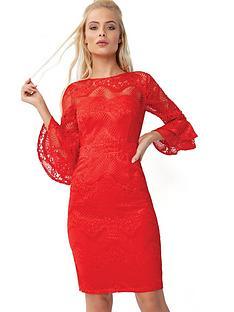 little-mistress-lace-pencil-dress
