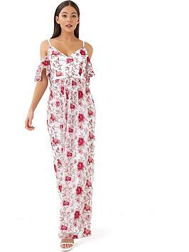 little-mistress-cold-shoulder-embroidered-maxi-dress
