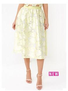 little-mistress-organza-jacquard-skirt