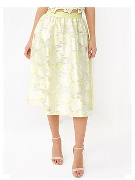 little-mistress-organza-jacquard-skirt