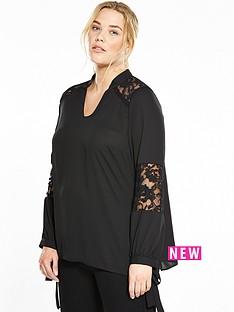 so-fabulous-lace-tie-sleeve-blouse-black