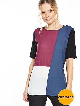 v-by-very-colourblock-jersey-back-woven-front-top