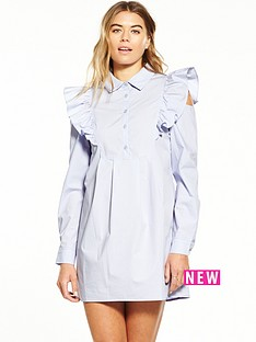 fashion-union-ruffle-shoulder-shirt-dress-lilac
