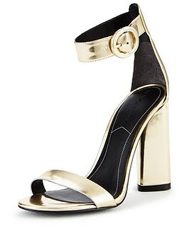 kendall-kylie-kendall-kylie-giselle-metallic-two-part-sandal