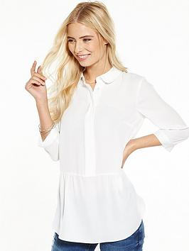 v-by-very-peplumnbspblouse-whitenbsp