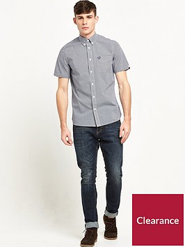 fred-perry-fred-perry-classic-gingham-short-sleeve-shirt