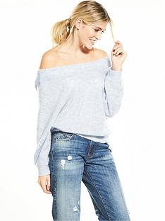 selected-femme-mia-off-the-shoulder-knit