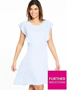 selected-femme-tora-frill-sleeve-dress