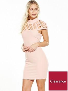 ax-paris-petite-cage-bodycon-dress-pink