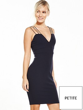 ax-paris-petite-strappy-bodycon-dress-navy