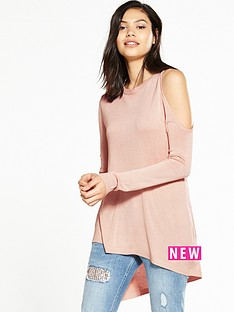 river-island-nude-one-shoulder-jumper