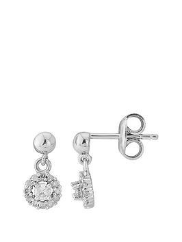 love-diamond-sterling-silver-diamond-halo-drop-earrings
