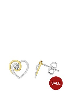 love-gem-sterling-silver-2-tone-cubic-zirconia-heart-earrings