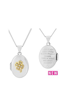 keepsafe-keepsafe-sterling-silver-and-yellow-rhodium-4-leaf-clover-cz-locket