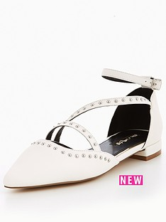 miss-selfridge-miss-selfridge-white-asym-point-ballerina