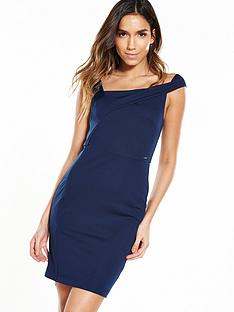 guess-diletta-dress-ink-blue