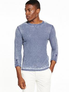 river-island-long-sleeve-slim-fit-textured-tshirt
