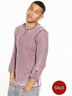 river-island-long-sleeve-muscle-fit-textured-tshirt