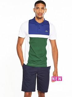lacoste-sport-colour-block-polo