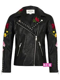 river-island-girls-black-floral-embroidered-biker-jacket