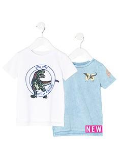 river-island-mini-boys-blue-dinosaur-t-shirt-multipack