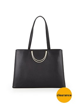 ted-baker-fold-handle-leather-large-tote