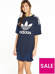 adidas-originals-high-neck-chiffon-dress-navynbsp