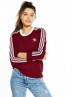 adidas-originals-3-stripes-long-sleeve-tee-burgundynbsp