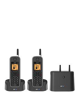 bt-elements-1-km-range-ip67-rated-cordless-phone-with-answer-machine-and-nuisance-call-blocker-twin