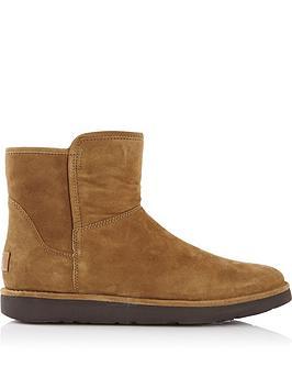 ugg-abree-mini-sheepskin-boots-tan