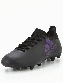 Photo of Adidas mens x 17.3 firm ground football boot - black