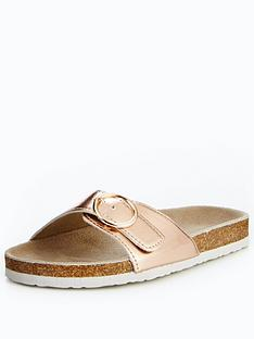 v-by-very-tabby-footbed-twist-flat-sandal-rose-gold