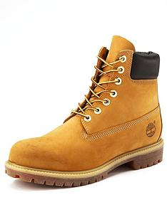 Timberland Mens 6 inch Premium Leather Boots 7465b0a0e069