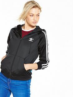 adidas-originals-slim-full-zip-hoodie-blacknbsp