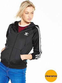 adidas-originals-slim-full-zip-hoodie-blacknbsp
