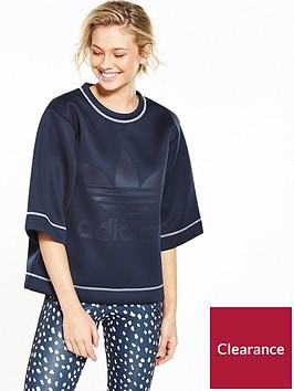 adidas-originals-boxy-sweatshirt-navynbsp