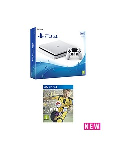 playstation-4-slim-500gbnbspwhite-console-with-fifa-17