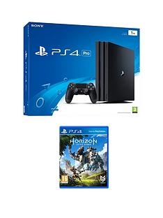 playstation-4-ps4-pro-console-with-horizon-zero-dawnnbspplus-optional-extra-controller-andor-12-months-playstation-networknbsp