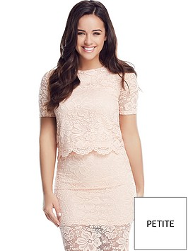 v-by-very-petite-scallop-lace-boxy-top