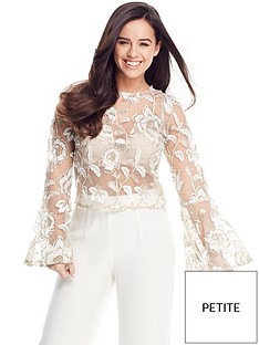 v-by-very-petite-embroidered-flute-sleeve-top